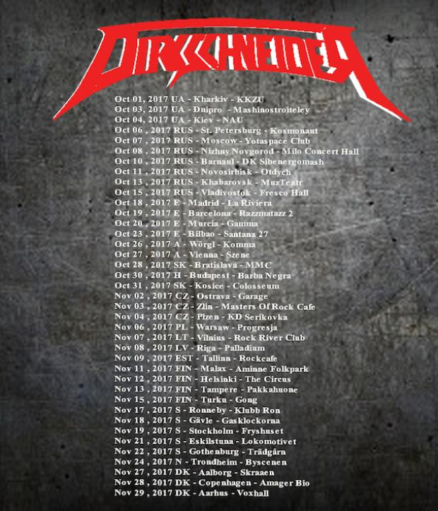 Tourmanager for DIRKSCHNEIDER
