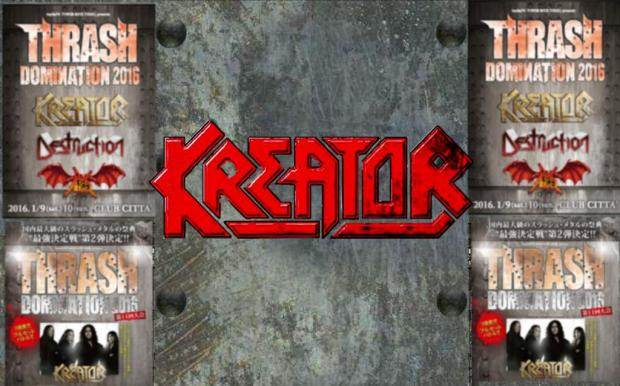 Mit KREATOR in Japan beim Thrash Domination Festival