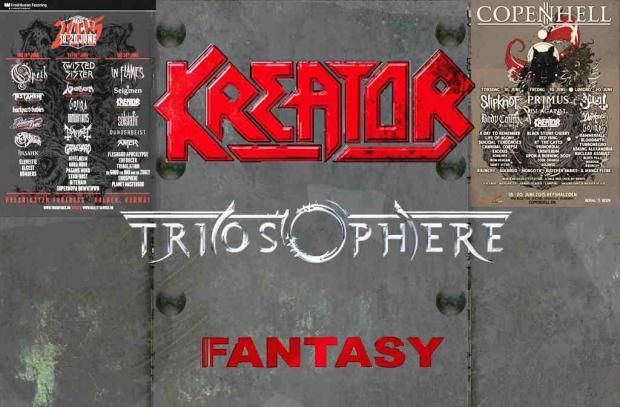 Fantasy, Kreator, Triosphere