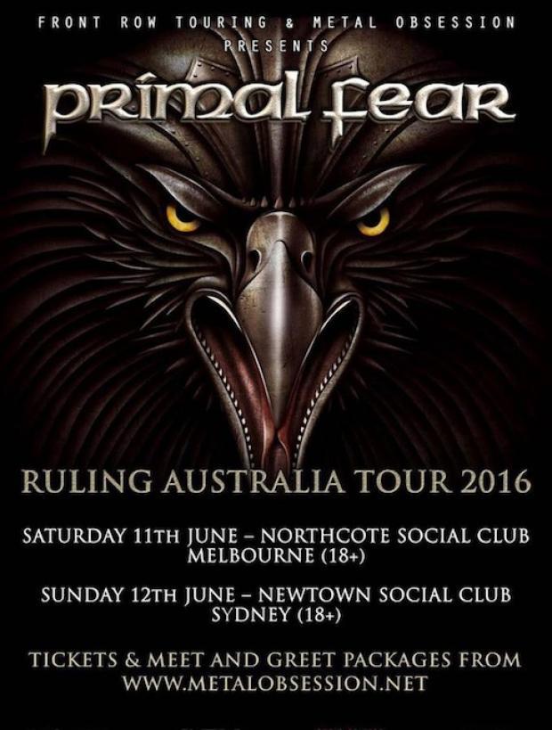 Primal Fear in Australien