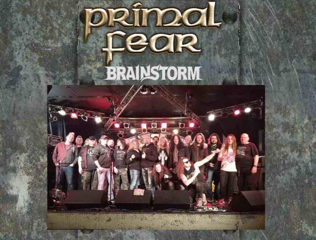 PRIMAL FEAR + BRAINSTORM Europa Tour 2016