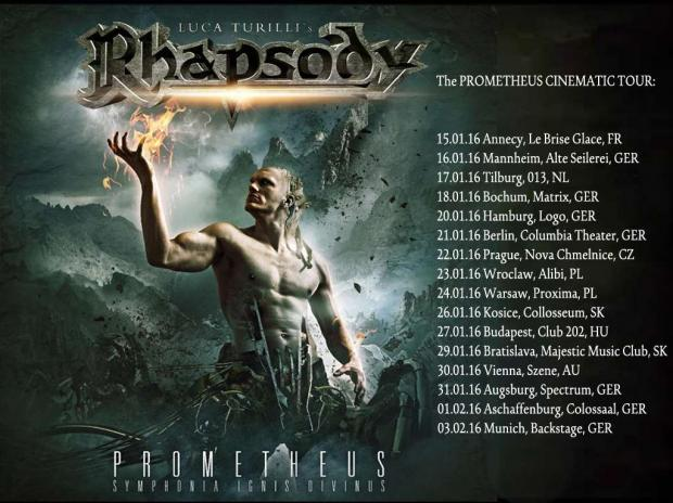 RHAPSODY European Tour