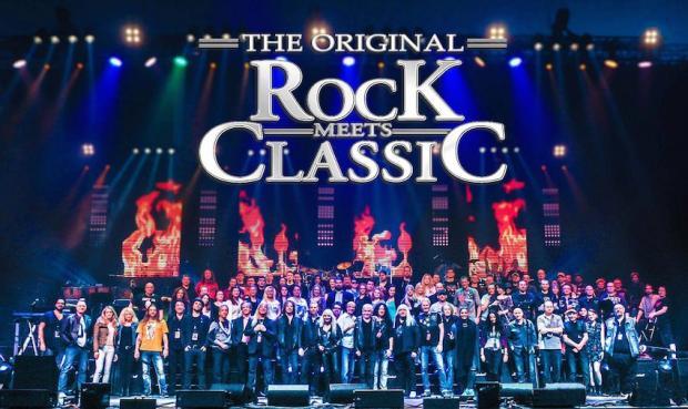 FOH für ROCK MEETS CLASSIC Tournee