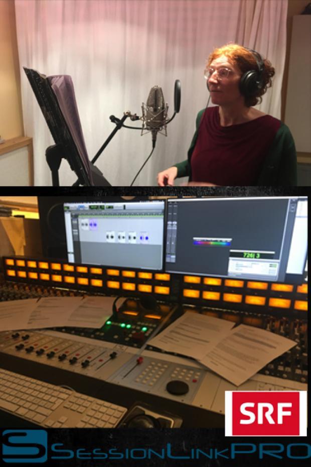 Sprachaufnahmen für den SFR