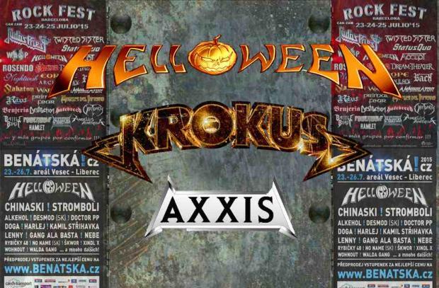 Noch mehr Sommer Festivals mit HELLOEWEEN, KROKUS und AXXIS