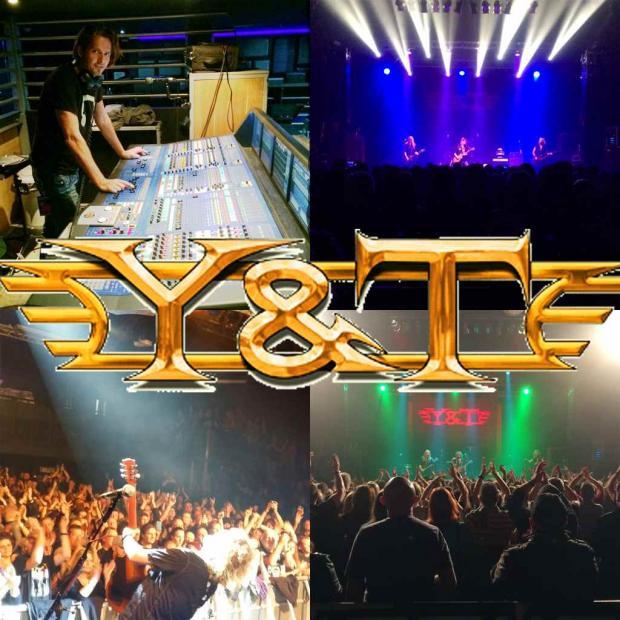 FOH für Y&T auf der Europa Tour 2015