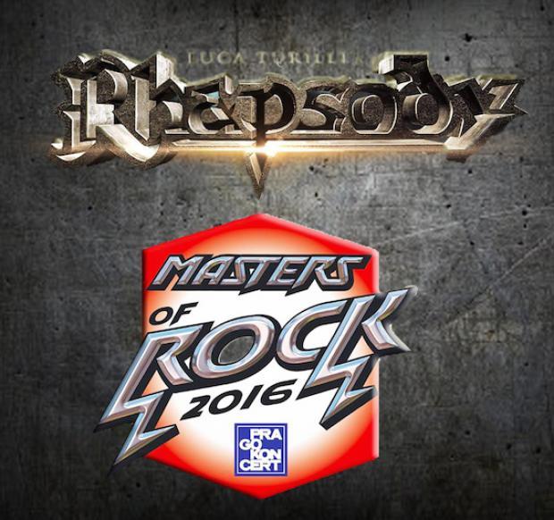 Mit RHAPSODY beim MASTERS OF ROCK FESTIVAL