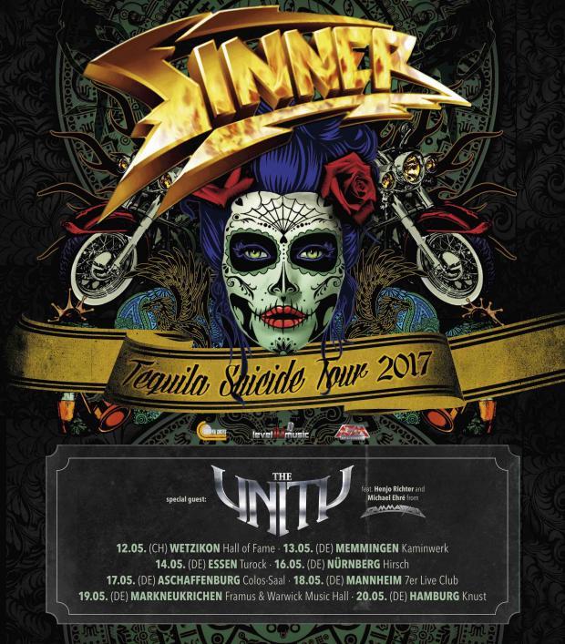 FOH Engineer und Tourmanager für SINNER & THE UNITY